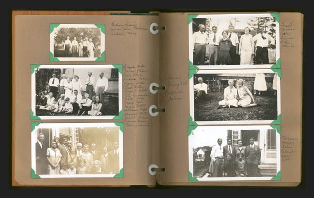 Scrap book photos