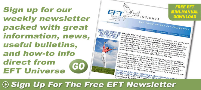 Free EFT Newsletter and EFT Manual Download